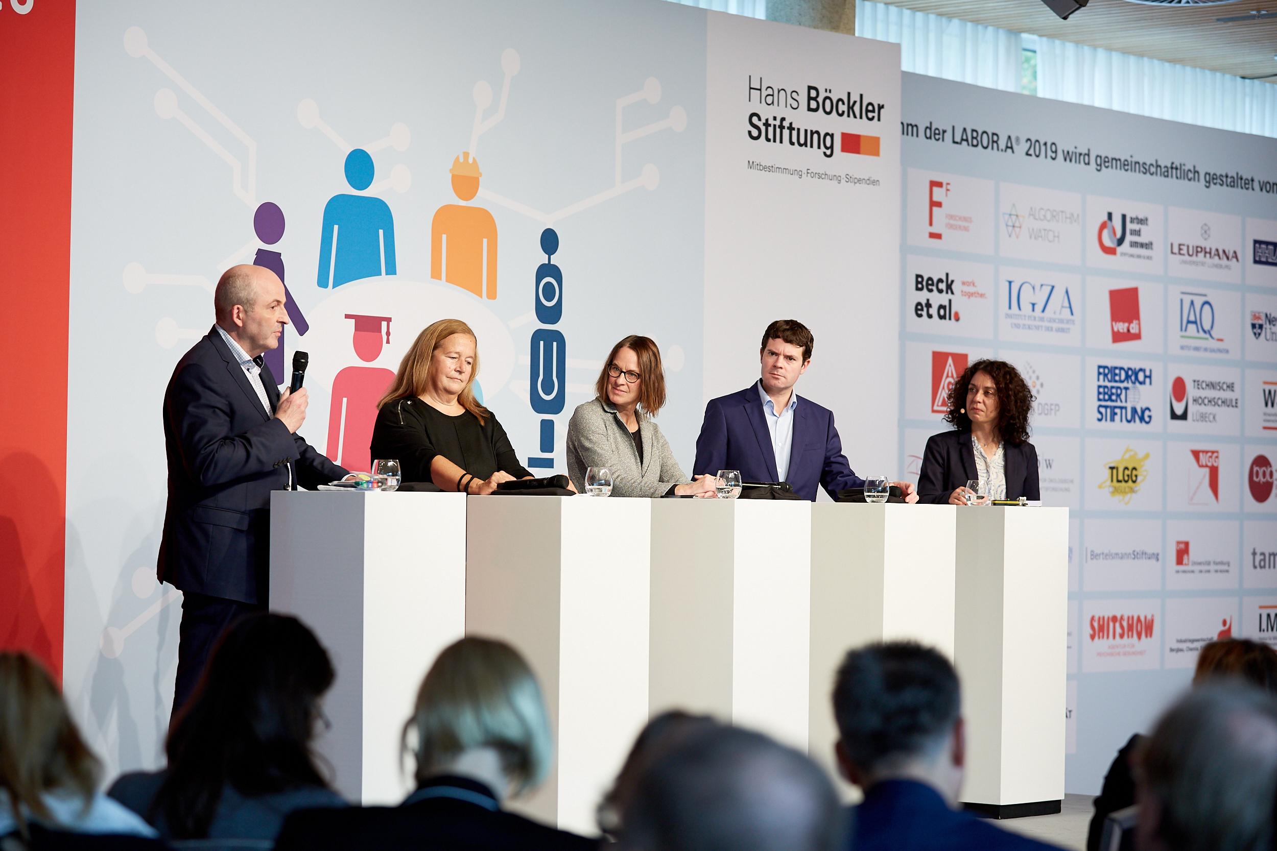 """LABOR.A 2019 – Plattform """"Arbeit der Zukunft"""" der Hans-Böckler-Stiftung"""